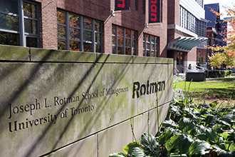 Exterior of the Rotman School