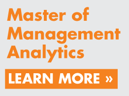Master of Management Analytics - Click here to learn more