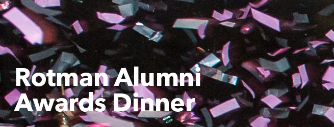 Rotman Alumni Awards Dinner